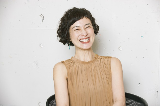 安田成美の笑顔画像