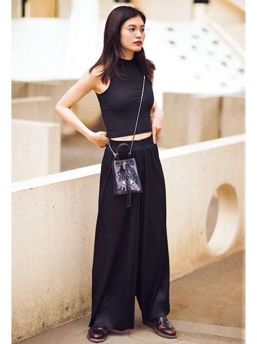 立花恵理の夏モードファッション着こなし