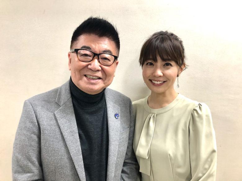生島ヒロシと小林麻耶