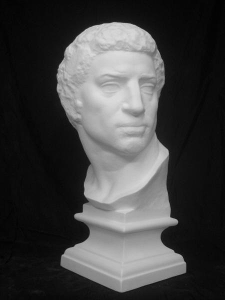 ブルータス石膏像