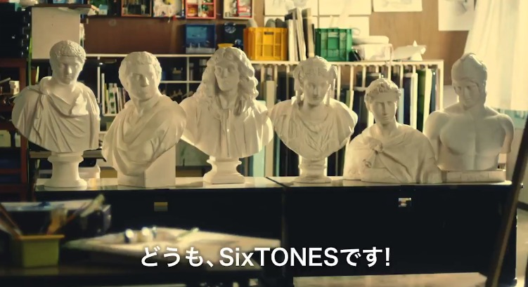 SixTONES『ST』CM