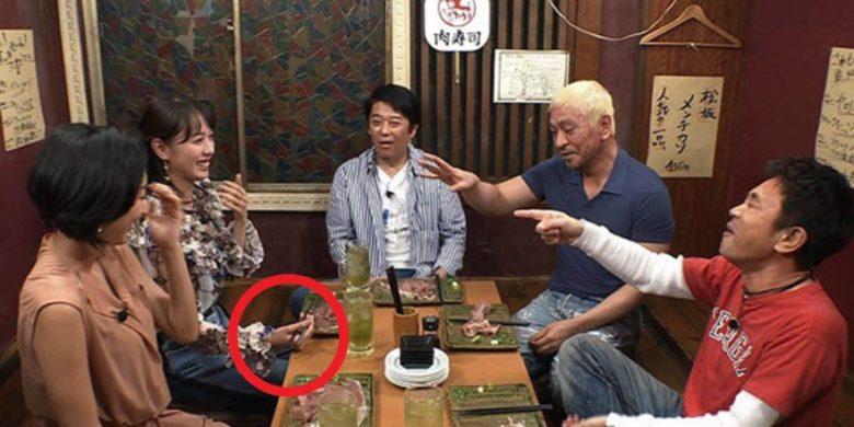 戸田恵梨香の箸の持ち方