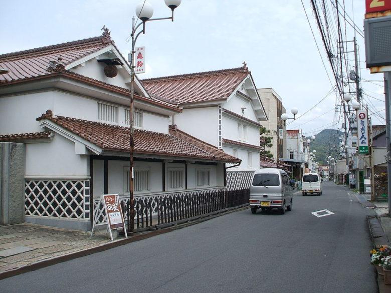 クロちゃんの実家の東広島市