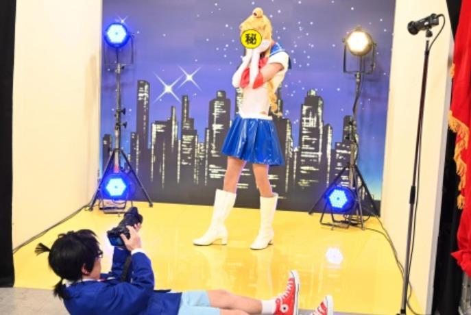 田中樹のセーラームーンコスプレ