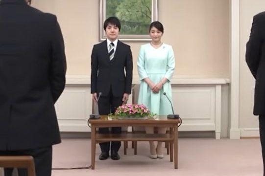 小室圭と眞子さまの身長差